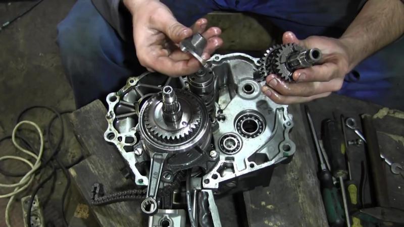 СВОИМИ РУКАМИ- Ремонт двигателя GEON NAC 250cc 2 Часть