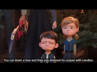 Вы срубили дерево, а затем нарядили его труп конфетами. Мне это нравится.