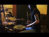Tower of Power - Maybe Itll Rub Off (drum-cover by Kseniya Ryan) для ТБ