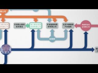 贯君.刘呈杰.陈峰共同持有部分企业股权3D结构图
