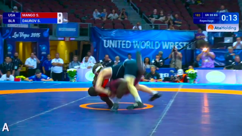 Big Move Monday -- Soslan DAUROV (BLR) -- 2015 World Championships
