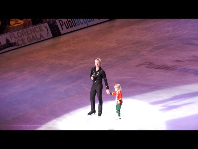 Evgeni Plushenko Florence Ice Gala 2017