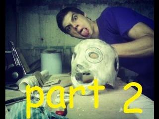 Как Сделать маску Кори Тейлора Ч1 /How to create Corey Taylor mask Part 2