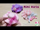 DIY Miniature Hat for Dollhouse | How to make a Mini Hat
