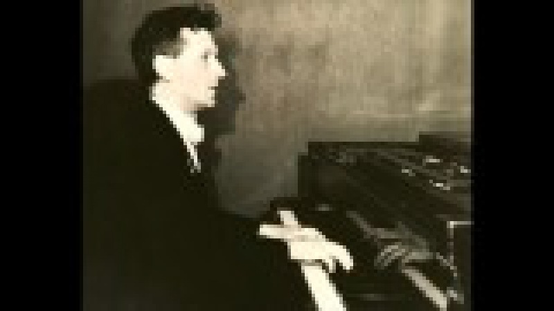 Vladimir SOFRONITSKY plays CHOPIN Ballade no.1