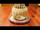 Плетение гномодомика из газетных трубочек 2 часть Запись трансляции 20 07