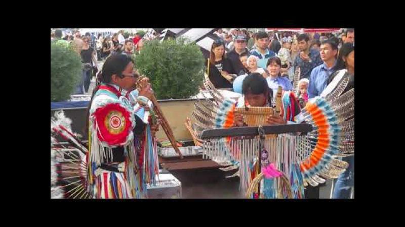 Индейцы на дне города Екатеринбурга