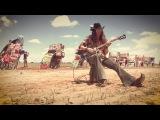 Rockin' the Caddy at Cadillac Ranch, TX