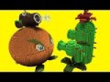 Minecraft vs Plants vs Zombies  GIGA CITRON  PEA SHOOTER  COCONUT CANNON  CACTUS