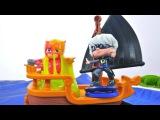 PJ Masks heroes en pijamas español. Luna chica roba un mapa del tesoro. Vídeos para niños