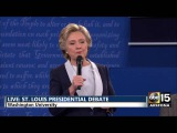 Presidential Debate - DT Bc you'd be in jail! - Hillary Clinton vs. Donald Trump