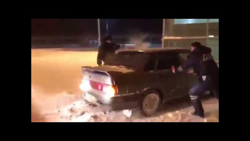 Погоня как в GTA за бывшим полицейским! Таран эропорта в Казани! Эксклюзив
