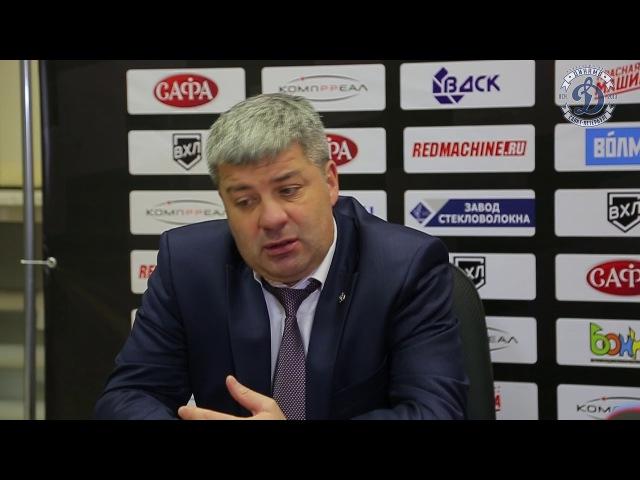 Леонид Тамбиев: «Просели в движении во втором периоде, но я рад победе»