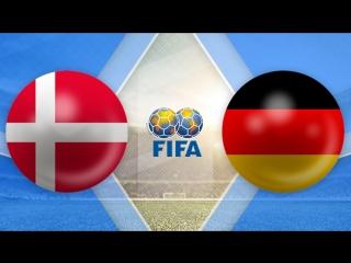 Дания 1:1 Германия | Товарищеские матчи 2017 | Обзор матча
