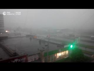 Сильнейший ураган в Тагиле