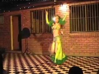 Belly Dancer Rachel in Sydney - saidi with drummer 4255