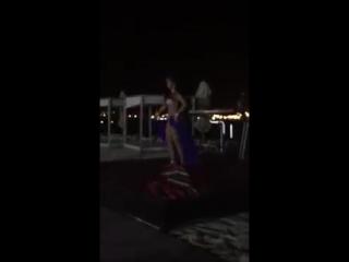 Jasmin (Tatiana Kladova) - Tabla solo- Kempinski Aqaba Hotel- Raqs Sharqi-bellyd 4882