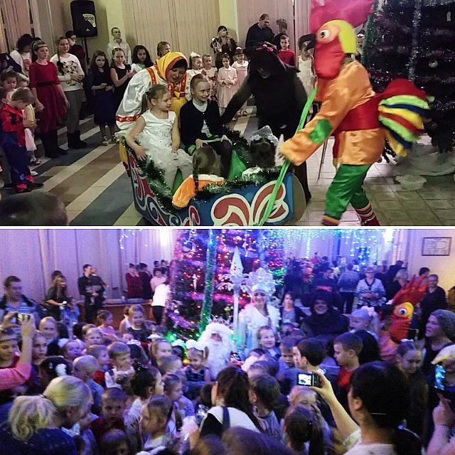 Новогодний бал для детских студий