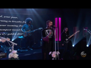 MUNA Performs 'I Know a Place' on Jimmy Kimmel Live