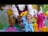 #Play Doh My Little#Pony Rainbow Dash#Пластилин Плей До набор Май Литл Пони Радуга Дэш.