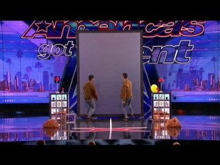 Americas got talent (tony and jordan - les french twins)