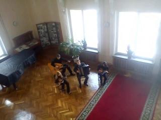 Веселили как-то деканов))) 22.02.13 в БГАМ. Цыганков-Беляев -