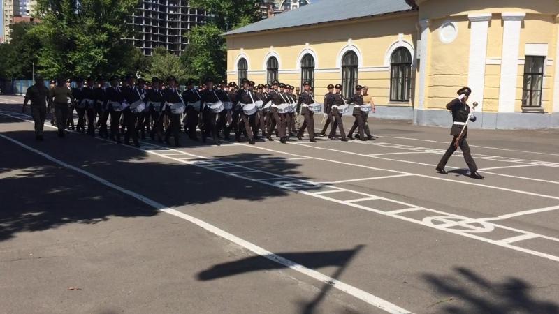 Підготовка до параду 2017 КВЛ 3 Рота