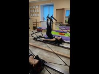 Long Spine Massage на реформере в студии PILATES г.Егорьевск.