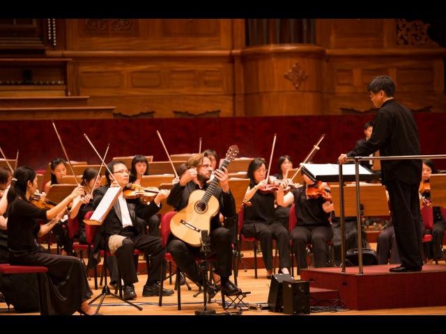 Marcin Dylla plays Concierto del sur by Manuel Ponce