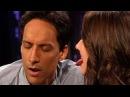 Alison Brie Licks Danny Pudi's Nose