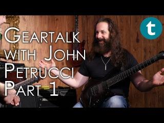 John Petrucci | Dream Theater | Gear Talk | Part 1: Ernie Ball & Music Man