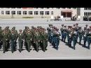 Гимн сухопутных войск. Исполняют курсанты НВВКУ