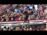 Lady Gaga - Come to Mama LIVE (Get Out the Vote Rally for Hillary Clinton )