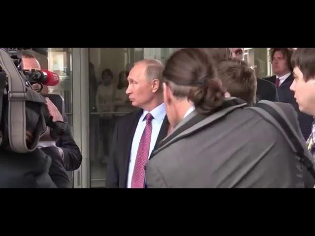 Путин посетил офис ИТ-компании Яндекс (часть 1) | ПУТИН ИНФО