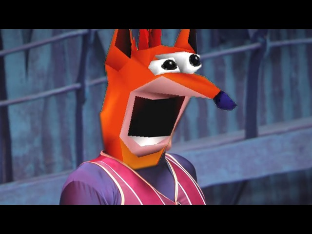 We Are Number One but its woahed by Crash Bandicoot