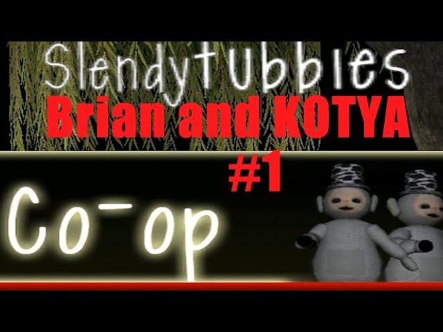 Slendytubbies 1 Брайн и Котя - Телепузики в лесу?