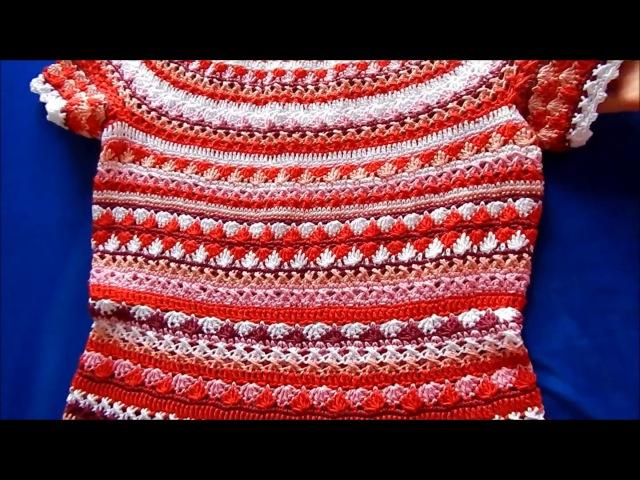 Платье Сиенна крючком (The dress Sienna by crochet)