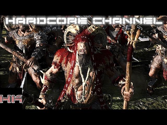 Total War Warhammer - Совместная кампания (Зверолюды-Хаос) Hardcore =7=Гибель Империй