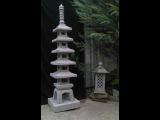 How to make a concrete pagoda