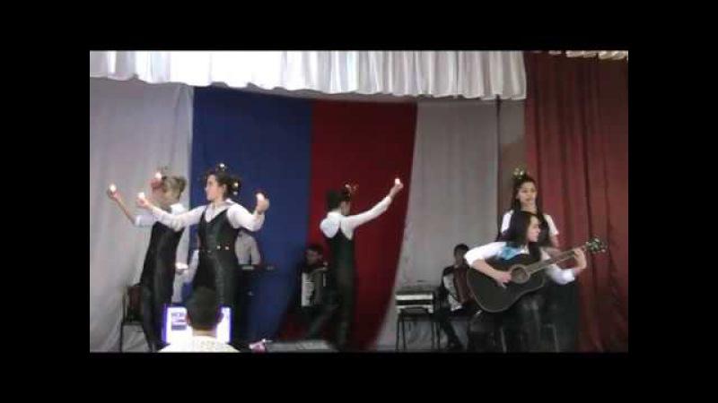 ВИА Къара гоз Шопен Абибуллаева Карина и Мартынова Алие выступление в Первомайс