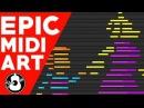 Undertale EPIC Midi Art Adventures Down Below Original Logic Pro X String Player Gamer
