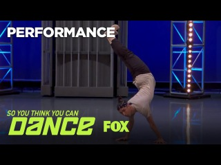 Lex Ishimoto Performs For The All-Stars | Season 14 Ep. 5 | SO YOU THINK YOU CAN DANCE