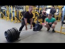 Deadlift 280 kg x 3 reps @ 95 kg b/w 18 y.o.