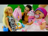 Игры для девочек. Мама и дочка Кукла Беби Бон Эмили идут в магазин! Видео игрушки для девочек