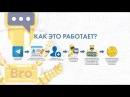 BroBot Презентация Новый Telegram бот WebTraffic