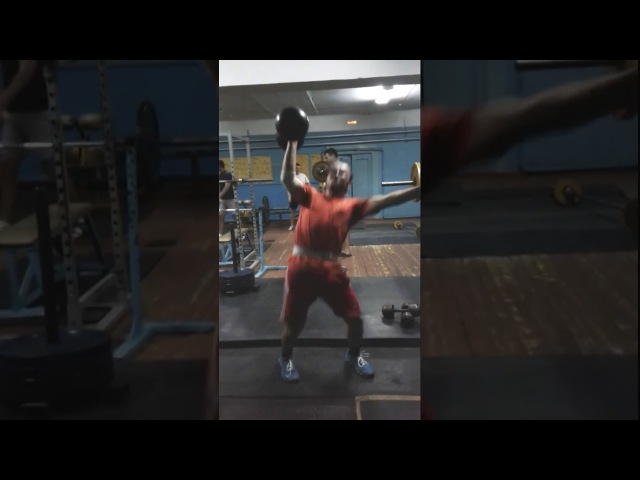 141lbs Baby Inch Overhead Squats