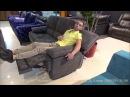 Видео обзор Диван Марко с реклайнерами, алькантара
