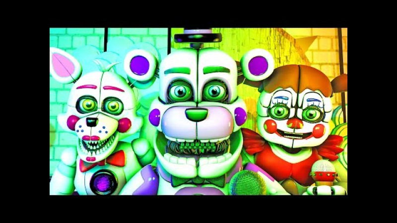 Five Nights at Freddy's Song (FNAF SFM 4K Sister Location/SL)(Ocular Remix)