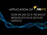 Ansys Tutorial | Design And Analysis Of  Mudguard With Composites | ACP Analysis | 2016