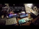 Hypnotic session # Techno studio Jam (Tempest SpaceEcho Prophet6 Perfourmer SubPhatty Strymon..)